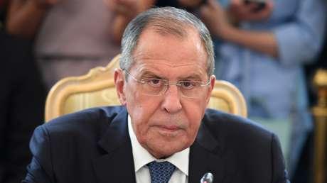 El ministro de Asuntos Exteriores ruso, Serguéi Lavrov.