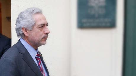 El fiscal chileno Raúl Guzmán allanó la sede de la Conferencia Episcopal de la Iglesia chilena.