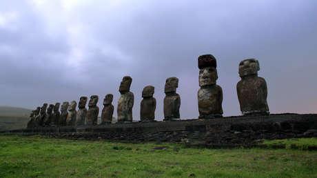 Los moáis de la Isla de Pascua
