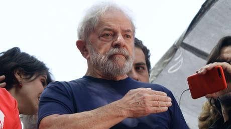 April 7, 2018 - Sao Paulo, Brazil - Former President Luiz Inacio Lula da Silva