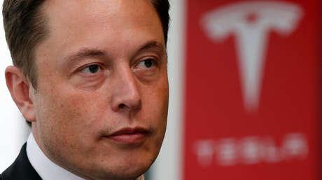 The founder of the company Tesla, Elon Musk.