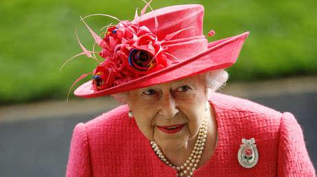 La reina Isabel II en la localidad de Ascot, Reino Unido, el 21 de junio de 2018.