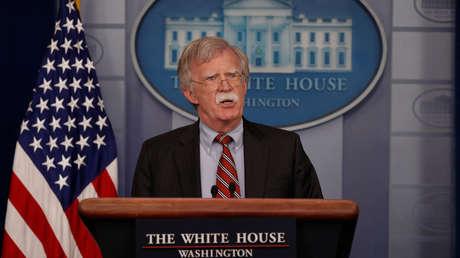 El asesor de Seguridad Nacional, John Bolton, en la Casa Blanca en Washington, EE.UU., el 2 de agosto de 2018.