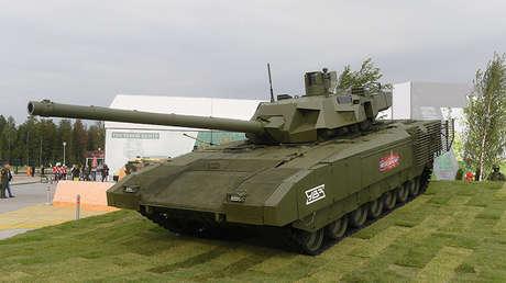 Tanque T-14 Armata en la exposición Army 2018 en Kúbinka (Rusia).