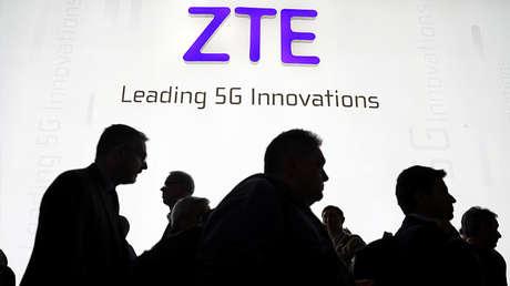 El logo de ZTE