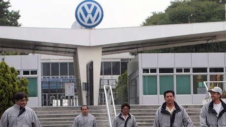 La planta de Volkswagen en Puebla, México