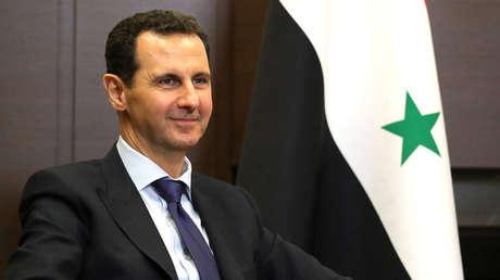 El presidente sirio Bashar al Assad en Sochi (Rusia), el 17 de mayo de 2018.