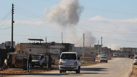 La localidad siria de Saraqib.