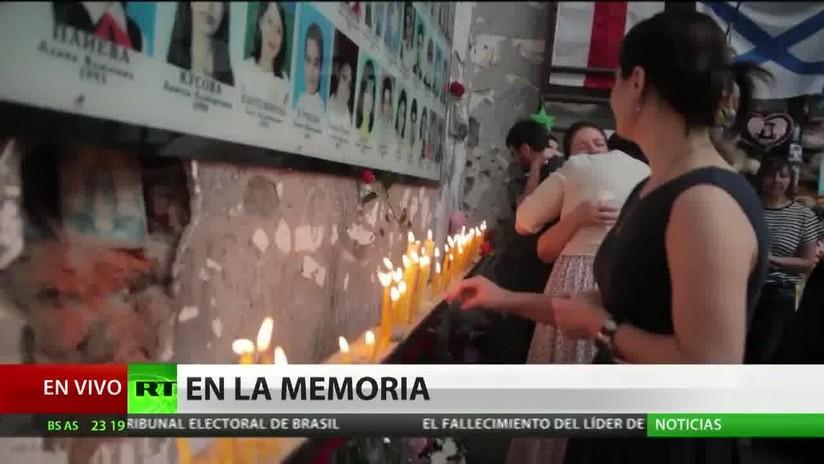 Conmemoran en Rusia la trágica toma de rehenes en la escuela de Beslán