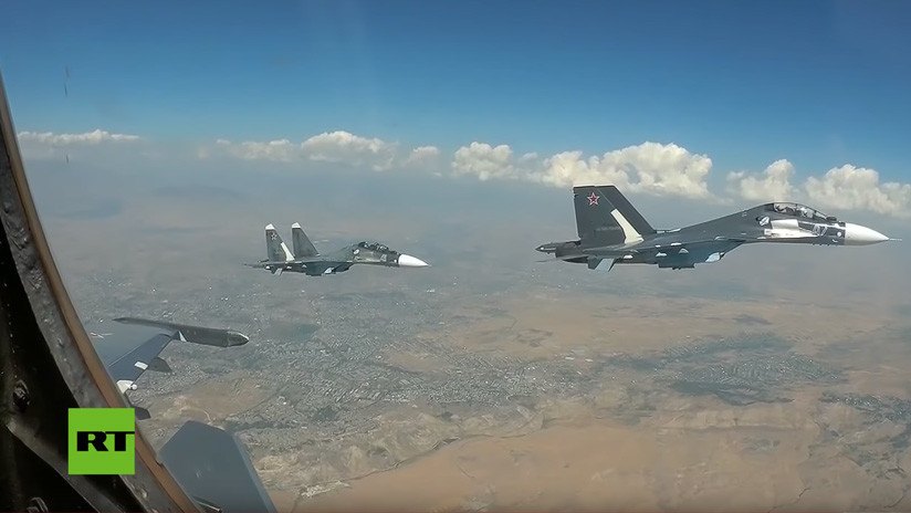 VIDEO: Rusia realiza ejercicios navales de gran escala en el Mediterráneo