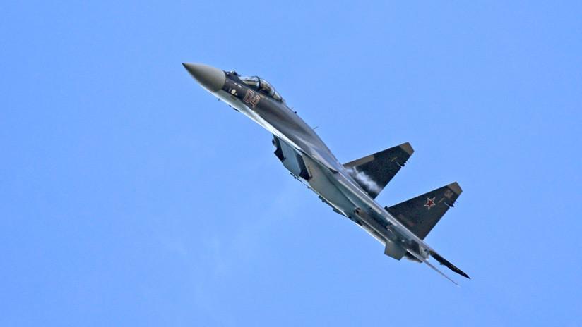 """El caza ruso Su-35 es """"la peor pesadilla"""" de la Fuerza Aérea de EE.UU."""