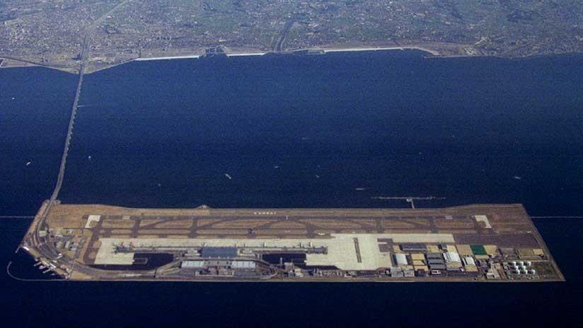 VIDEO: Un tifón inunda por completo un aeropuerto internacional en Japón