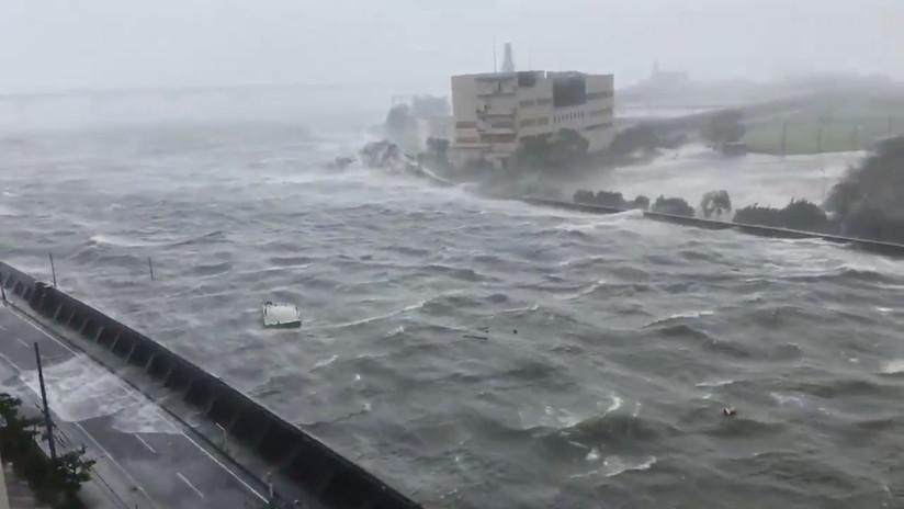 FOTOS: El mayor tifón de los últimos años azota Japón