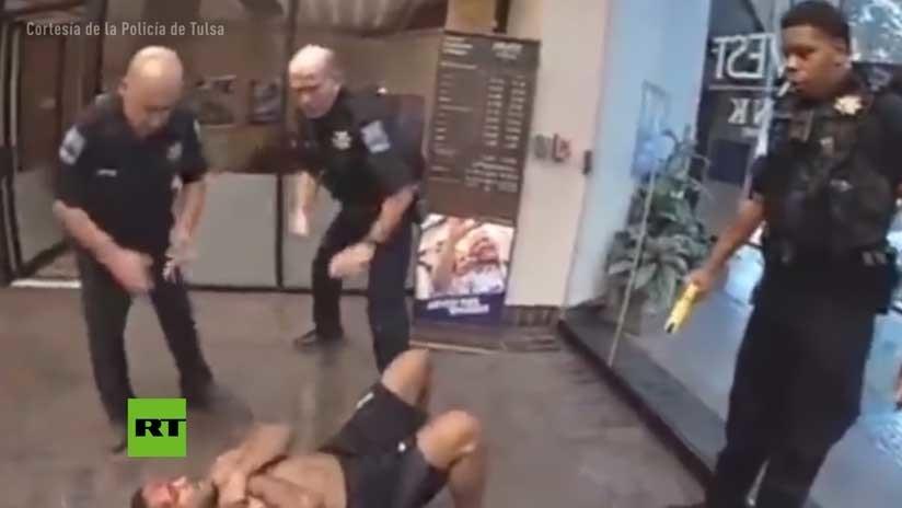 VIDEO: La Policía le dispara varias veces con un táser y muere a los tres días en un hospital