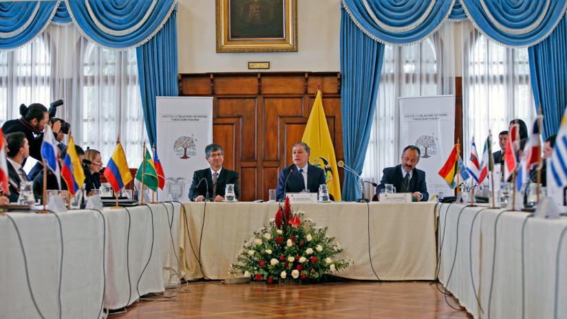 """Países de Latinoamérica proponen abrir un """"mecanismo de asistencia humanitaria"""" para Venezuela"""