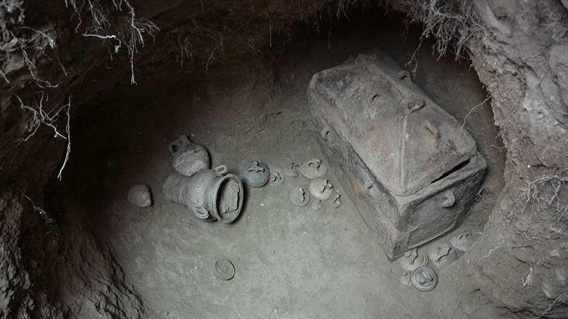 Un agricultor encuentra por casualidad una tumba de hace 3.400 años en Grecia