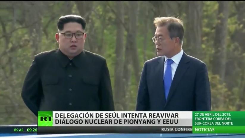 Delegación surcoreana intenta reavivar el diálogo nuclear de Pionyang y EE.UU.