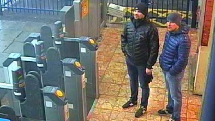 Londres pone nombre a sospechosos del ataque a los Skripal