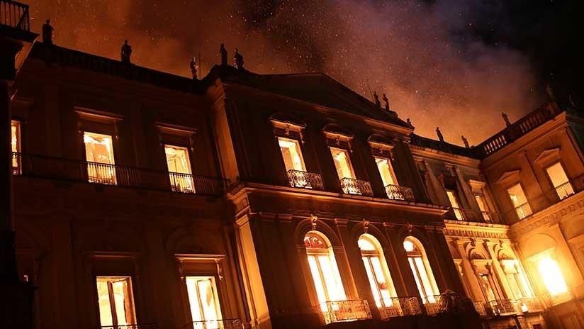 ¿Cuánto se perdió en el incendio del Museo Nacional de Río de Janeiro?