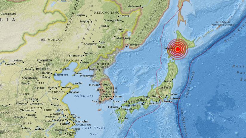 Japón: Se registran dos fuertes sismos casi simultáneamente