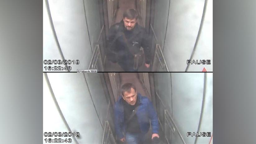 Rusia devela insólitas incoherencias en fotos de sospechosos del ataque a Skripal
