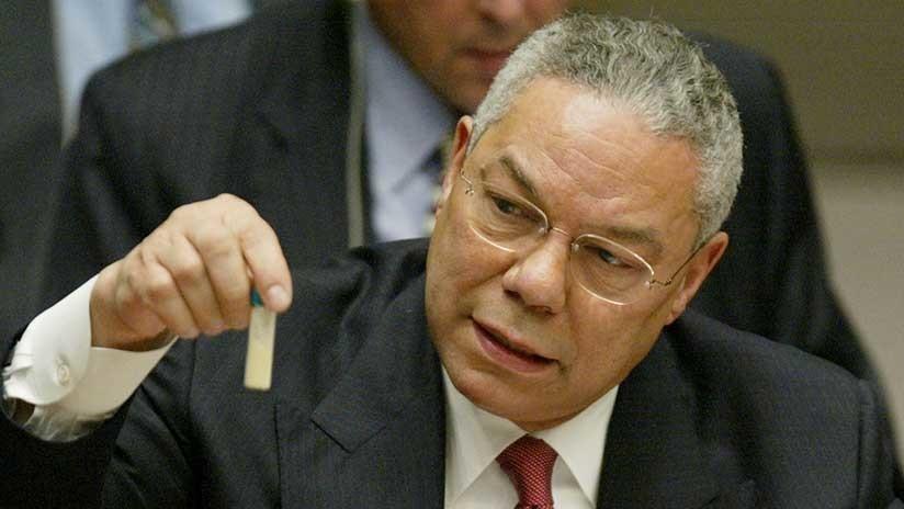 ¿Otra probeta de Colin Powell?: La Embajada rusa se burla de las 'pruebas' del caso Skripal