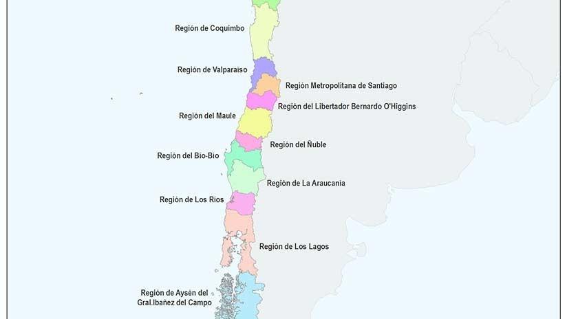 Así es el nuevo mapa de Chile tras el nacimiento de una nueva región