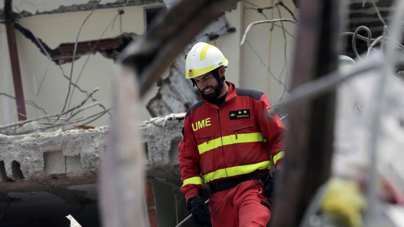 Un terremoto de magnitud 6,2 sacude el centro del país — Ecuador