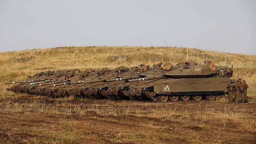 Salen a la luz detalles del programa secreto de Israel para armar a rebeldes sirios