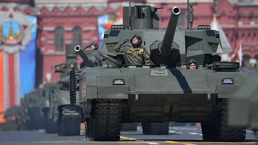 El tanque T-14 Armata recibe un misil de penetración 'absoluta'