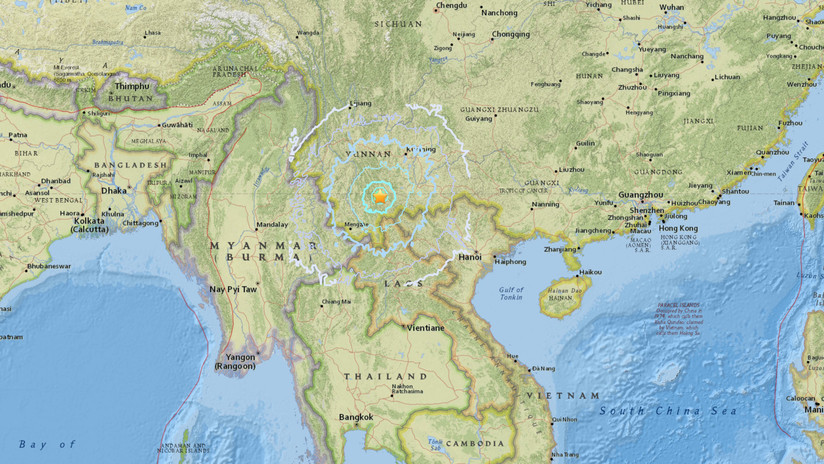 28 número heridos dejó sismo en suroeste de China