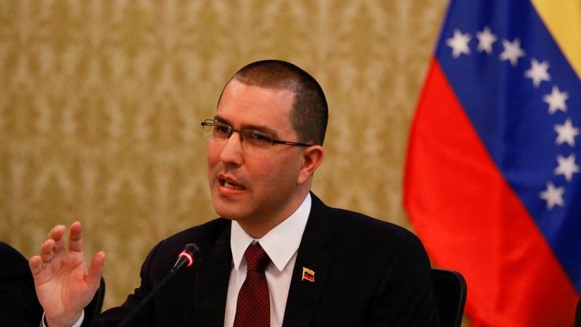 """Canciller venezolano: """"Denunciamos los planes de intervención de EE.UU. contra Venezuela"""""""