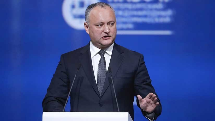 Hospitalizan al presidente de Moldavia tras un accidente de tráfico