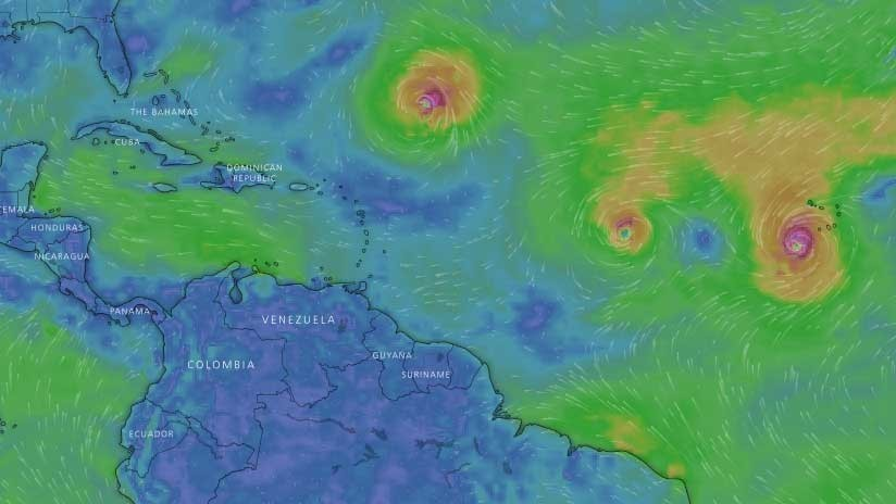 La tormenta tropical Isaac se dirige rumbo a Venezuela, Puerto Rico y República Dominicana