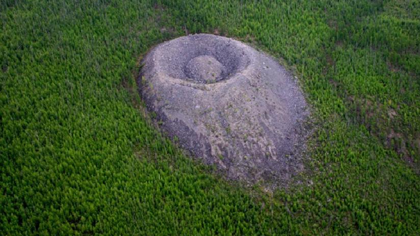 El misterioso 'Nido del águila de fuego': ¿Regalo extraterrestre o cráter volcánico a medio hacer?
