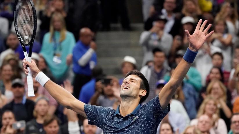 Djokovic vence en el US Open más controvertido de los últimos tiempos