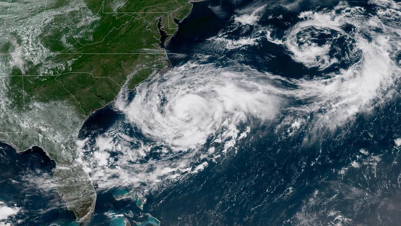 La rara coincidencia de tormentas en el Atlántico y en el Pacífico sorprende a los meteorólogos