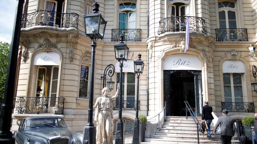 Roban joyas a princesa saudí en el hotel Ritz de París