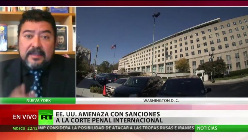 """""""EE.UU. no está dispuesto a someterse a ninguna corte u organismo internacional"""""""