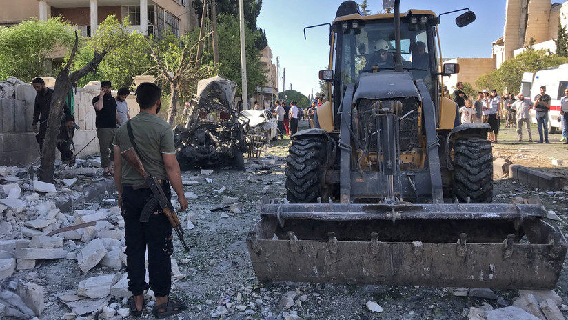 Ministerio de Defensa ruso: La filmación de un ataque químico escenificado en Idlib ha empezado