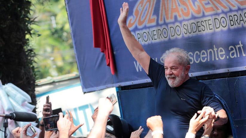"""""""Mi condena es una farsa judicial"""": Lula se retira de las presidenciales con apoyo a Haddad"""