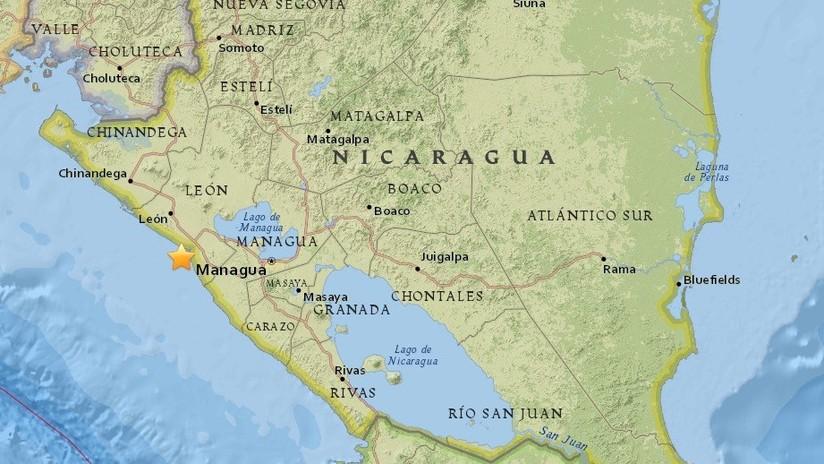 Sismo de 5.9 grados sacude a Nicaragua | Noticias