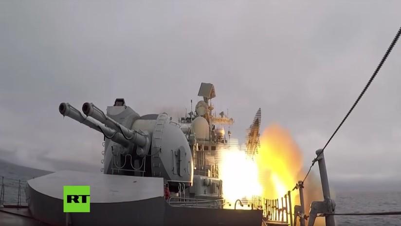 VIDEO: La Flota del Pacífico rusa alcanza un blanco a 100 km de distancia