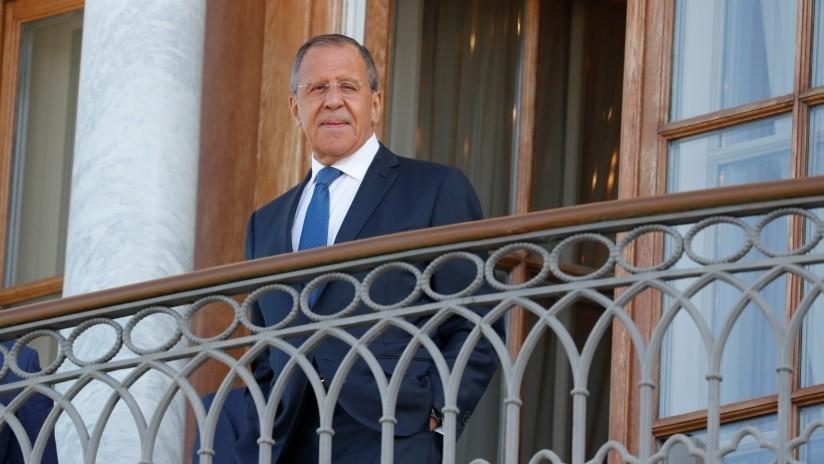 """Lavrov: """"Cuanto antes EE.UU. abandone la ilusión de que puede forzarnos a cambiar, mejor para todos"""""""