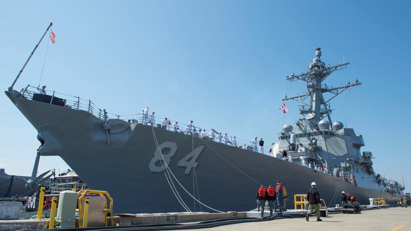 Entra en el Mediterráneo otro destructor de EE.UU. con misiles Tomahawk