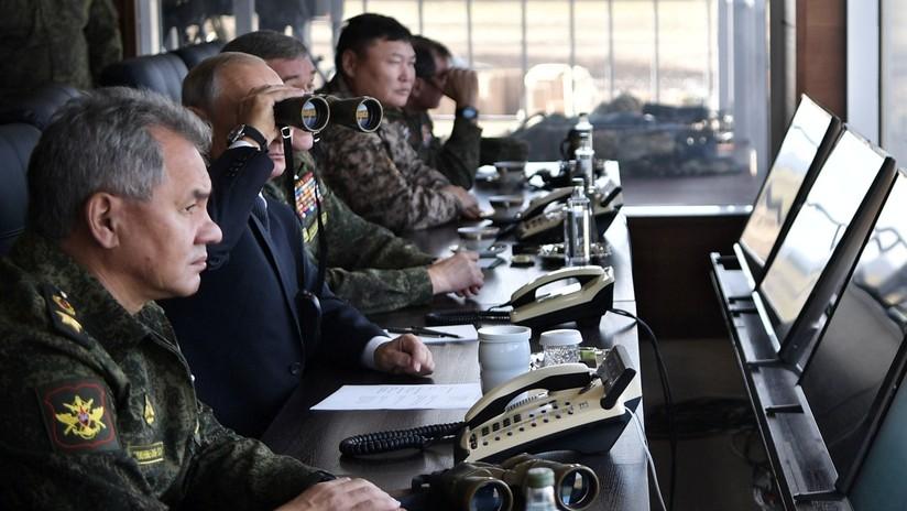 VIDEO: Putin visita Vostok-2018, las mayores maniobras militares de Rusia en décadas