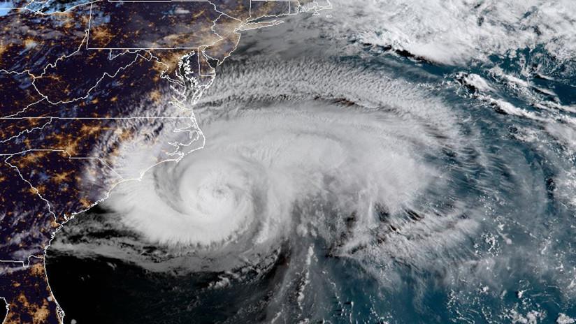 VIDEO: El huracán Florence se acerca a la costa este de EE.UU.