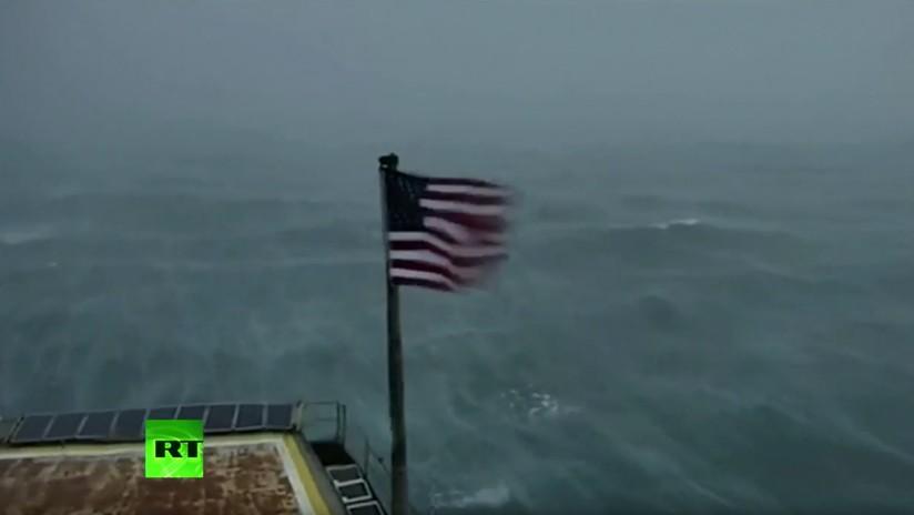 VIDEO: Florence empieza a inundar la costa este de EE.UU.