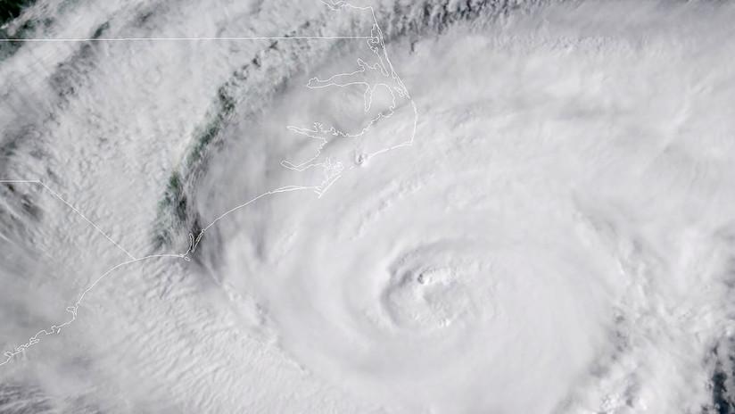 EE.UU.: Los vientos del huracán Florence se extienden por la costa de Carolina del Norte