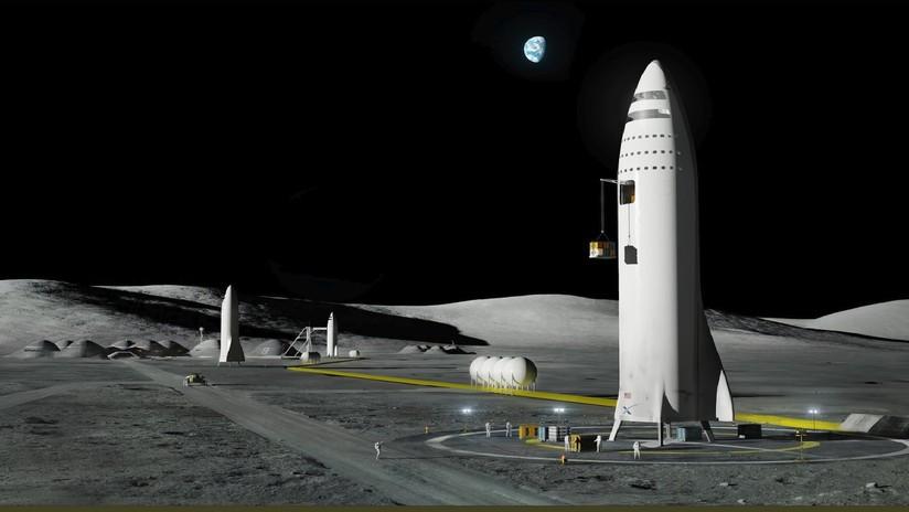 SpaceX recluta a un misterioso pasajero para viajar alrededor de la luna